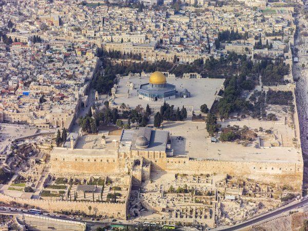 古代イスラエルの神殿跡地